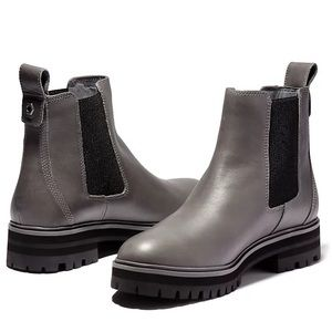 Timberland Women's London Square Gray Chelsea Boot